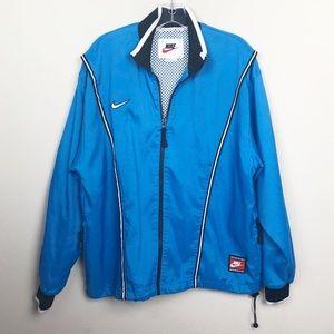 Vintage Nike Team Sports Blue Full Zip Jacket
